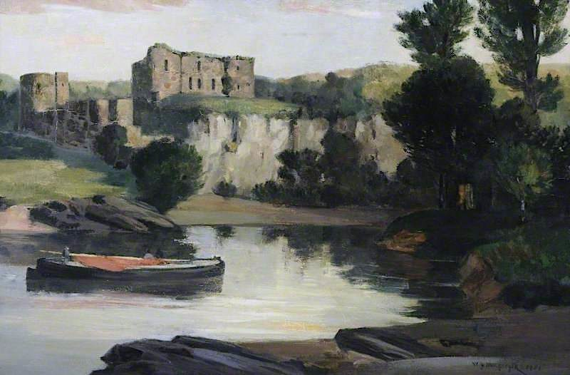 Chepstow Castle | William York MacGregor | oil painting