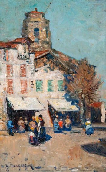 St Jean de Luz | William York MacGregor | oil painting