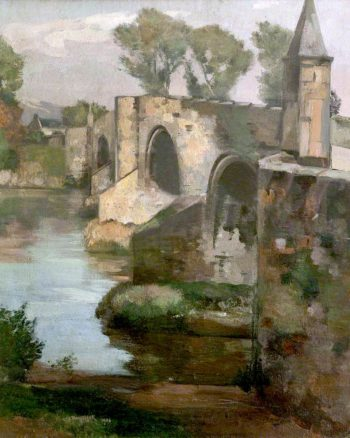 Stirling Bridge | William York MacGregor | oil painting