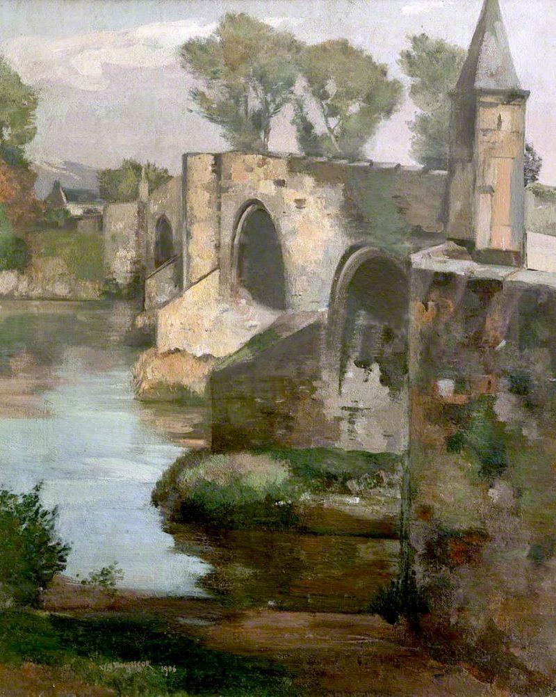 Stirling Bridge | William York MacGregor | oil painting