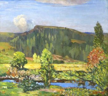 Summer Landscape | William York MacGregor | oil painting