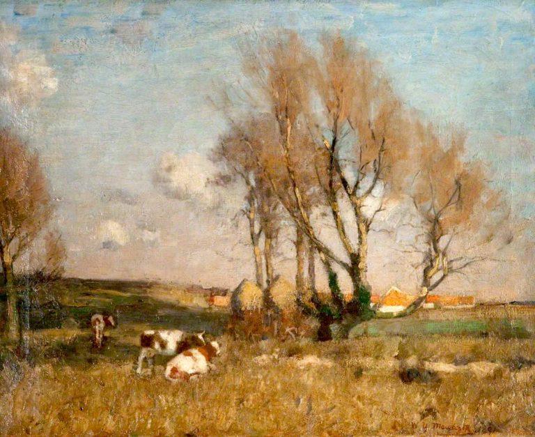 The Carse of Lecropt   William York MacGregor   oil painting