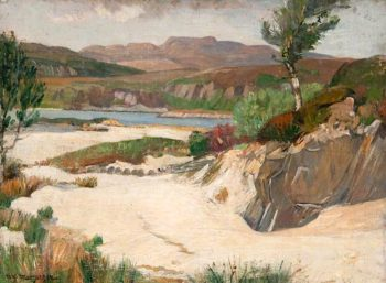 The Sands at Morar | William York MacGregor | oil painting