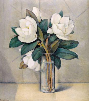 Magnolias | Alfred Ramos Martinez | oil painting