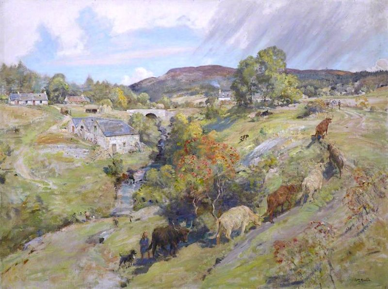 Scottish Landscape | William Walls | oil painting