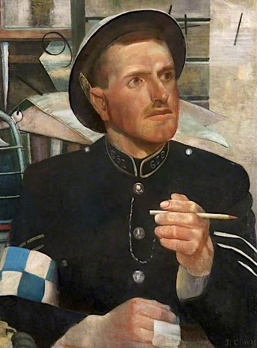 Scottish Policeman | James Cowie | oil painting