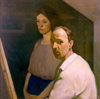 Self Portrait with Artists First Wife