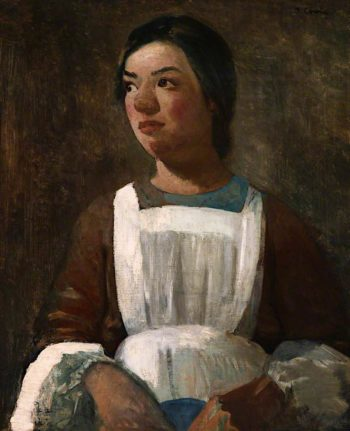 The Housemaid | James Cowie | oil painting