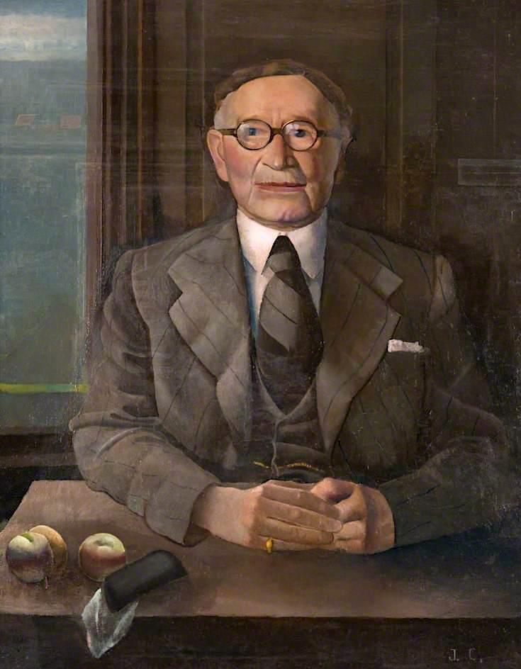 William Cumming Simpson | James Cowie | oil painting