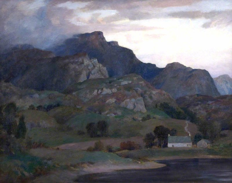 A West Highland Loch | James Whitelaw Hamilton | oil painting