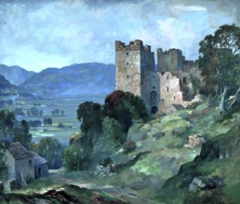 Bolton Castle | James Whitelaw Hamilton | oil painting