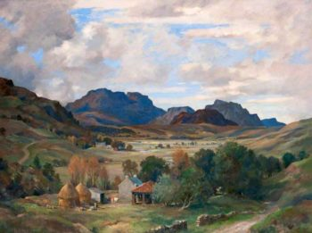 Glen Fruin | James Whitelaw Hamilton | oil painting