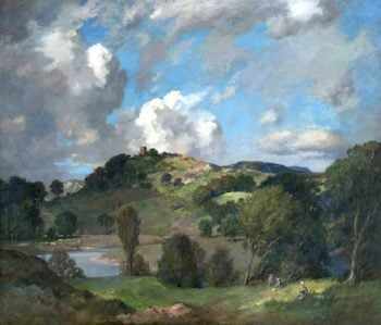 The Windings of the Lune | James Whitelaw Hamilton | oil painting