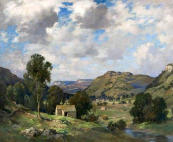 Upper Wharfedale | James Whitelaw Hamilton | oil painting