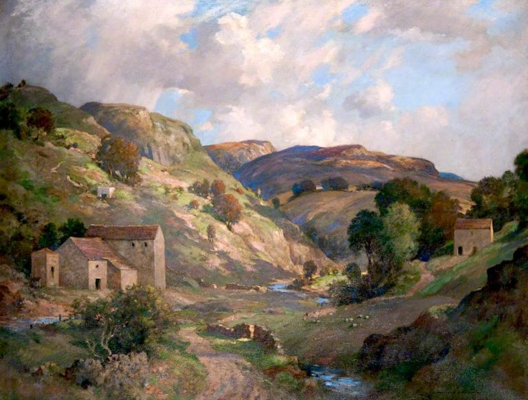Wharfedale | James Whitelaw Hamilton | oil painting