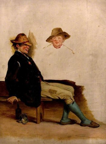 A Rustic Youth | William Mulready | oil painting