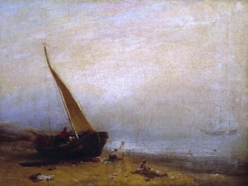 A Sea - Shore | William Mulready | oil painting