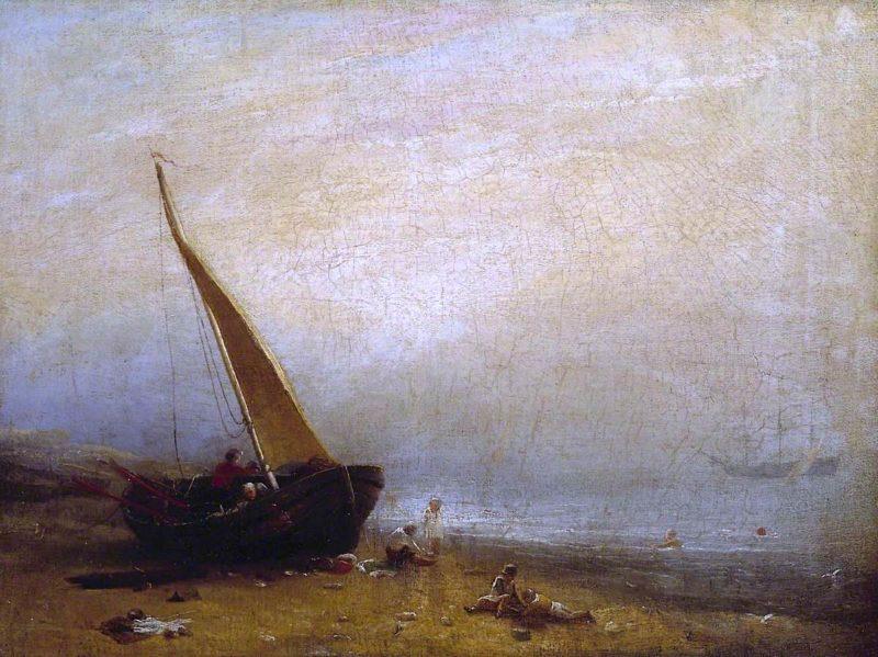 A Sea - Shore | William Mulready | oil painting