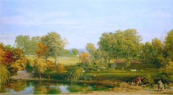 Blackheath Park | William Mulready | oil painting