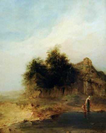 The Cottage | William Mulready | oil painting