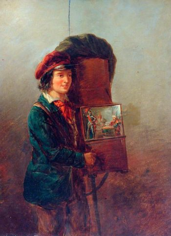 The Organ Grinder | William Mulready | oil painting