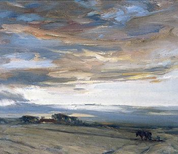 Clearing after Rain | John Campbell Mitchell | oil painting