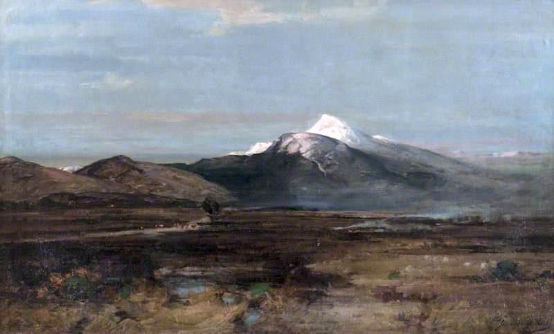 Cruachan   John Campbell Mitchell   oil painting