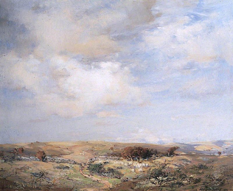 Drifting Clouds | John Campbell Mitchell | oil painting