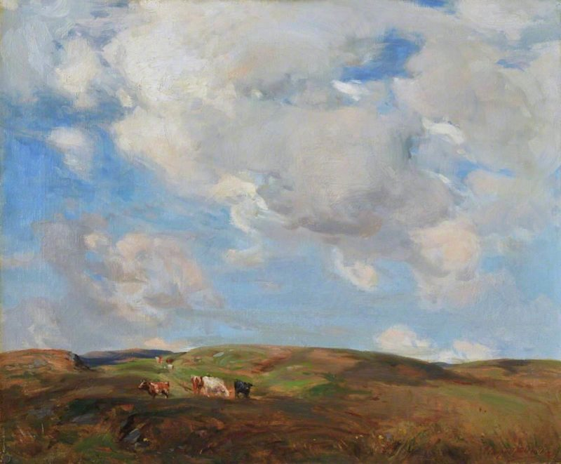 On the Kintyre Hills | John Campbell Mitchell | oil painting