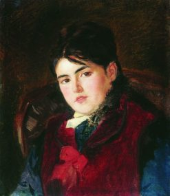 Portrait of a Woman | Konstantin Yegorovich Makovsky | Oil Painting