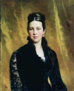 Portrait of a Lady | Konstantin Yegorovich Makovsky | Oil Painting