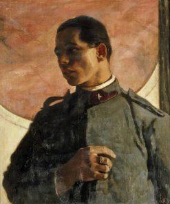 Italian Soldier | Glyn Warren Philpot | Oil Painting