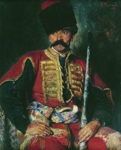 Cossack | Konstantin Yegorovich Makovsky | Oil Painting