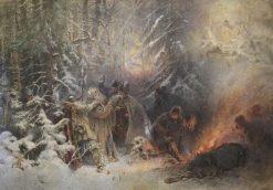 Ivan Susanin | Konstantin Yegorovich Makovsky | Oil Painting