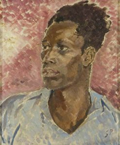 Head of a Negro | Glyn Warren Philpot | Oil Painting