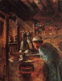 Cairo. Genre Scene | Konstantin Yegorovich Makovsky | Oil Painting