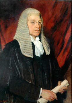 John Henry Whitley as Speaker of the House of Commons | Glyn Warren Philpot | Oil Painting