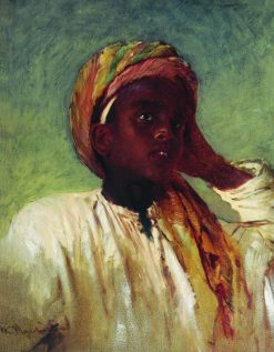 Arab Boy | Konstantin Yegorovich Makovsky | Oil Painting