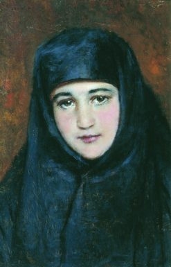 A Young Nun | Konstantin Yegorovich Makovsky | Oil Painting