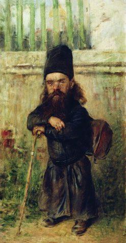 A Dwarf Monk | Konstantin Yegorovich Makovsky | Oil Painting