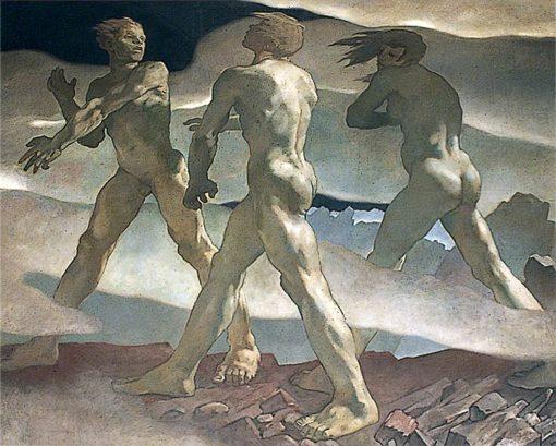 Journey of the Spirit | Glyn Warren Philpot | Oil Painting