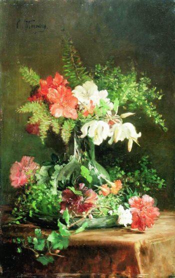 Still Life | Konstantin Yegorovich Makovsky | Oil Painting