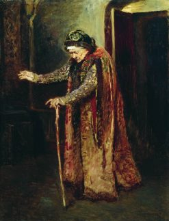 The Nanny of Ivan the Terrible | Konstantin Yegorovich Makovsky | Oil Painting