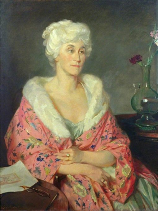 Lady Witt   Glyn Warren Philpot   Oil Painting
