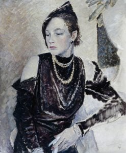 Miss Gwendoline Cleaver | Glyn Warren Philpot | Oil Painting