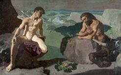 Melampus and the Centaur | Glyn Warren Philpot | Oil Painting