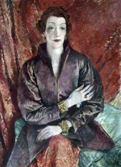 Mrs Eva Lutyens | Glyn Warren Philpot | Oil Painting