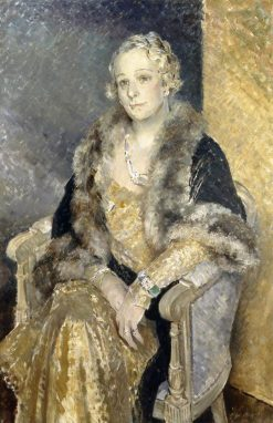 Mrs Woolmer | Glyn Warren Philpot | Oil Painting