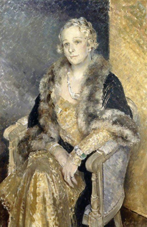 Mrs Woolmer | Glyn Warren Philpot | Oil Painting