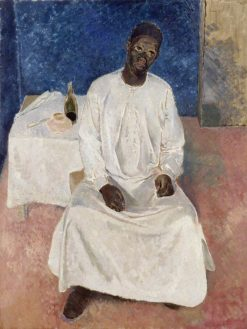 Negro Thinking of Heaven | Glyn Warren Philpot | Oil Painting